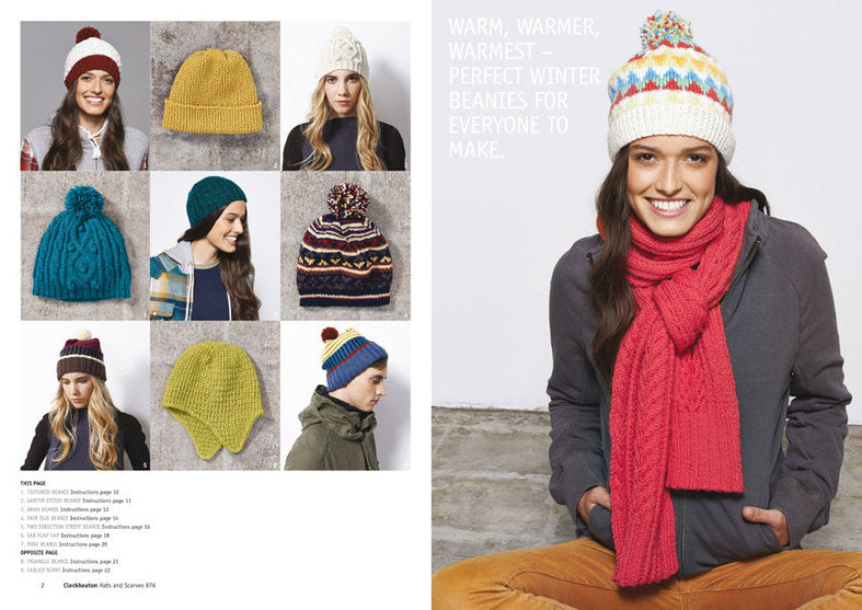 Hats and Scarves - 976