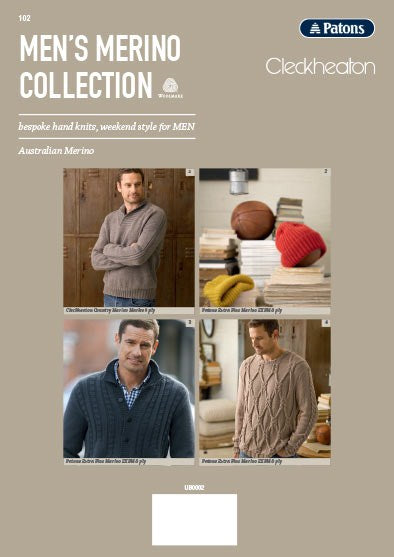 Men's Merino Collection Book 102