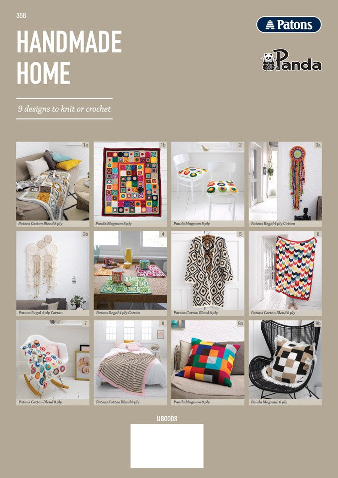 Handmade Home Book 358