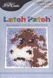 Brown Cow Latch Patch