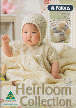 Patons Heirloom Collection: Baby Patterns in 4ply