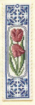 Delft Tulips Bookmark