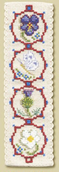 Medieval Flowers Bookmark
