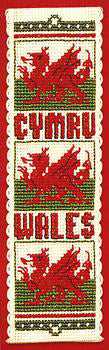 Welsh Dragon Bookmark
