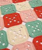 Geranium Patch Crocheted Rug - Morris & Sons Australia