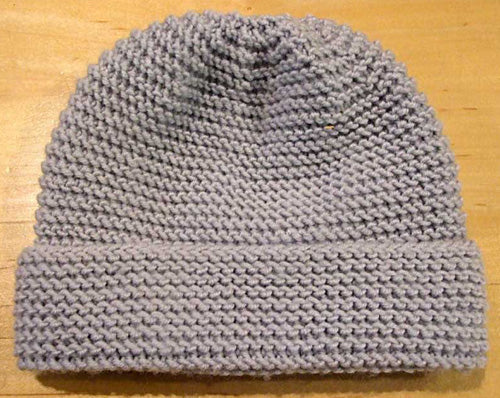 Garter Stitch Baby Jacket & Hat in Empire 8ply