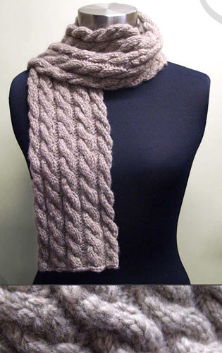 James Cabled Scarf