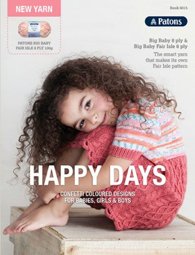 8015 Happy Days Pattern Book