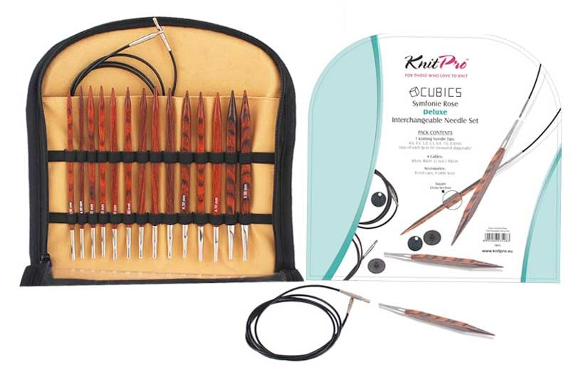 Knit Pro Cubics Interchangeable Needle Set