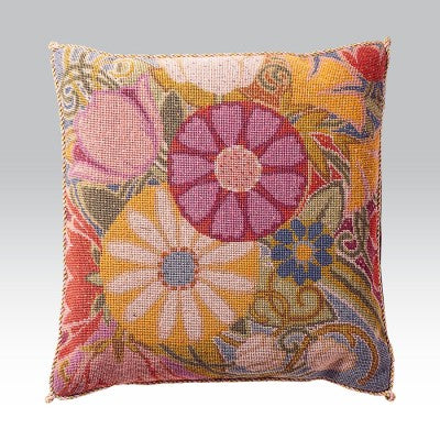 Burgundy Bouquet Cushion