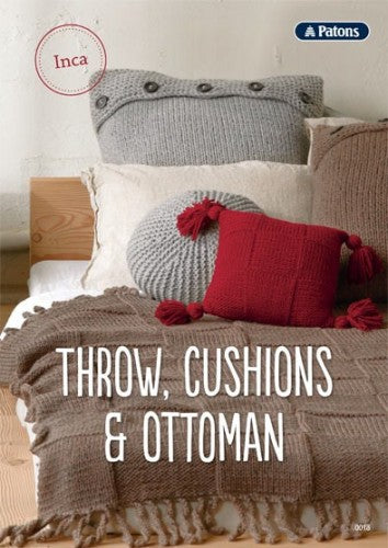 Throws, Cushions & Ottoman Pattern - Morris & Sons Australia