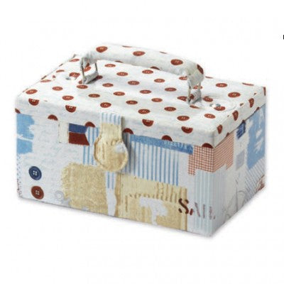Quilting Print Sewing Box