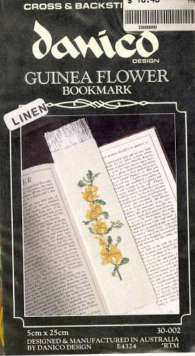 Guinea Flower Bookmark