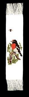 Red Capped Robin Bookmark - Morris & Sons Australia