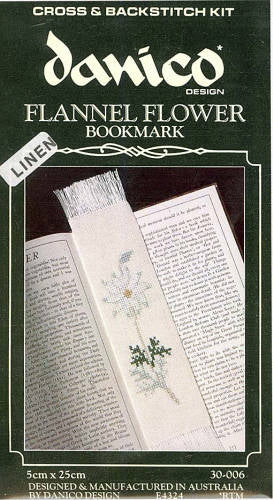 Flannel Flower Bookmark
