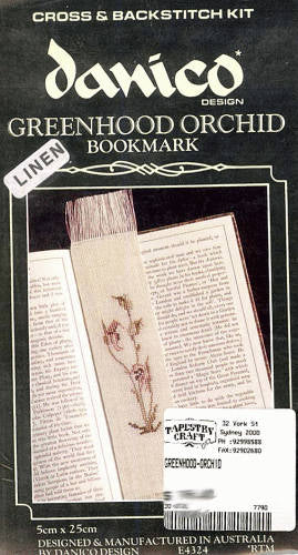Greenhood Orchid Bookmark