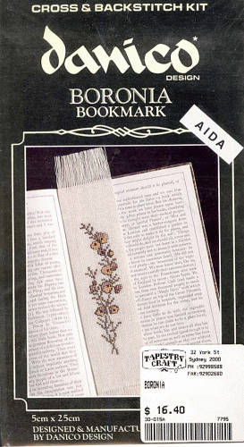 Boronia Bookmark - Morris & Sons Australia