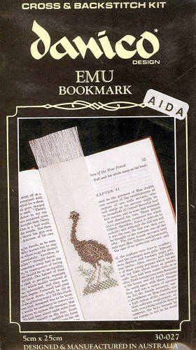 Emu Bookmark