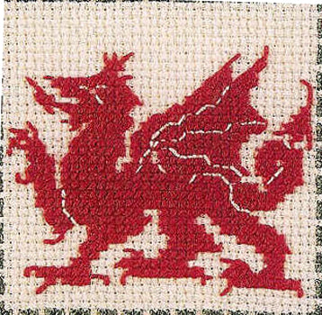 Welsh Dragon Gift Card