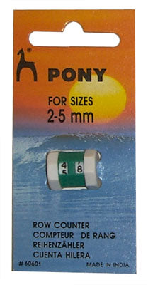 Pony Row Counter
