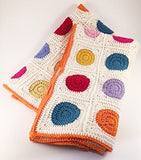 Crochet Dot Baby Blanket