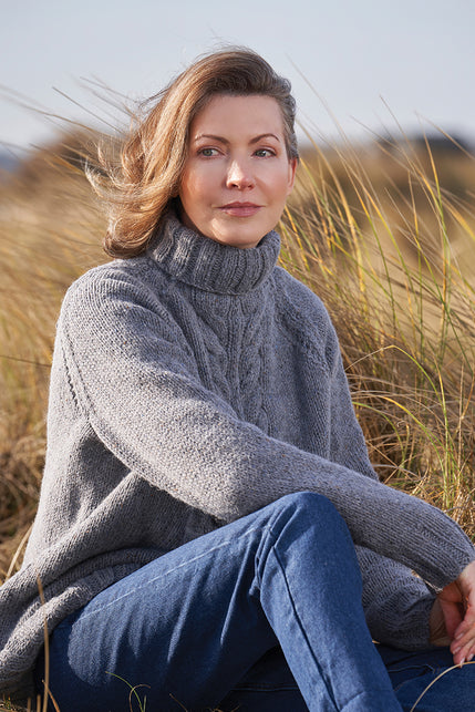 Felted Tweed Aran Knits 4 Projects by Quail Studio