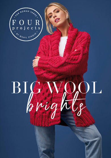 Big Wool Brights 4 Projects by Quail Studio - Morris & Sons Australia