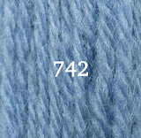 Appletons Crewel Wool 742 Bright China Blue