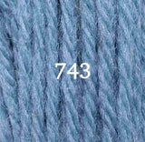Appletons Crewel Wool 743 Bright China Blue