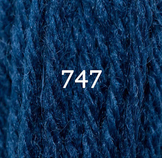 Appletons Crewel Wool 747 Bright China Blue