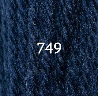 Appletons Crewel Wool 749 Bright China Blue