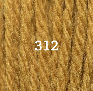 Appletons Tapestry Wool 312 Brown Olive