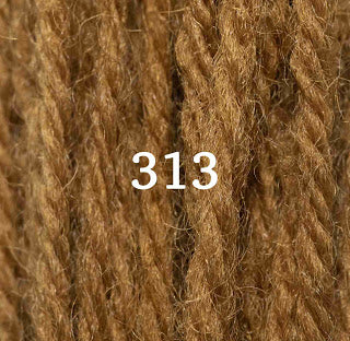 Appletons Tapestry Wool 313 Brown Olive