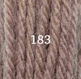 Appletons Tapestry Wool 183 Chocolate - Morris & Sons Australia
