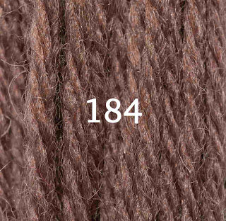 Appletons Crewel Wool 184 Chocolate