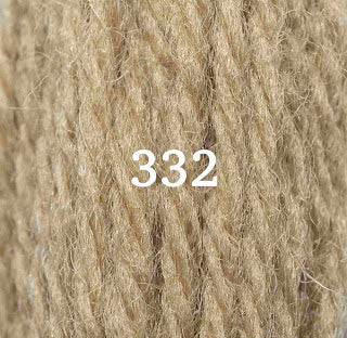 Appletons Crewel Wool 332 Drab Green