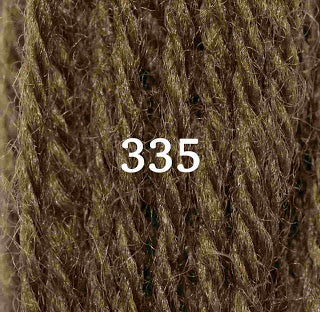 Appletons Tapestry Wool 335 Drab Green