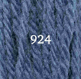 Appletons Crewel Wool 924 Dull China Blue