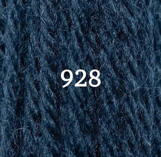 Appletons Crewel Wool 928 Dull China Blue