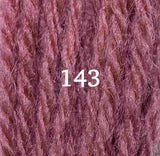 Appletons Crewel Wool 143 Dull Rose Pink - Morris & Sons Australia