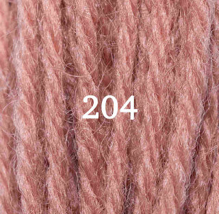 Appletons Crewel Wool 204 Flame Red