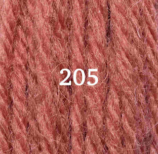 Appletons Tapestry Wool 205 Flame Red