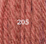 Appletons Crewel Wool 205 Flame Red