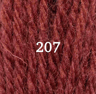Appletons Crewel Wool 207 Flame Red