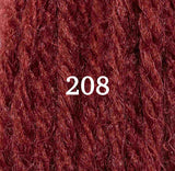 Appletons Crewel Wool 208 Flame Red