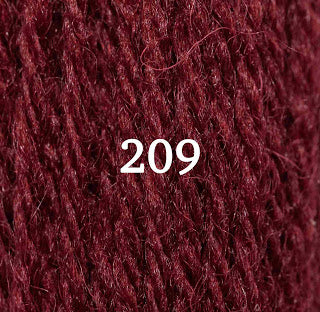 Appletons Tapestry Wool 209 Flame Red