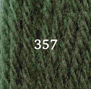 Appletons Tapestry Wool 357 Grey Green