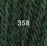 Appletons Tapestry Wool 358 Grey Green