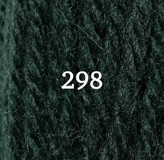 Appletons Tapestry Wool 298 Jacobean Green