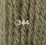 Appletons Crewel Wool 344 Mud Olive Green